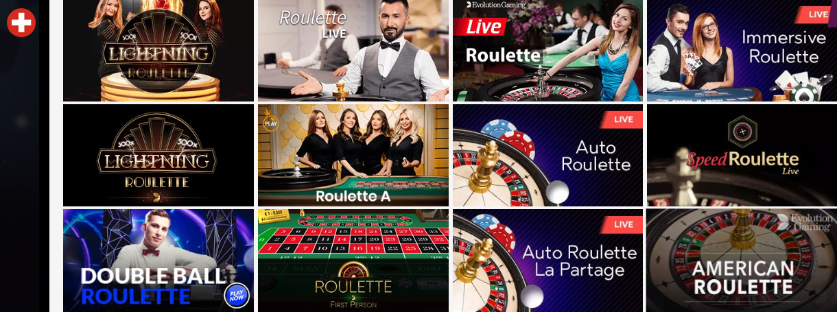 Roulette-Optionen in Online-Casinos
